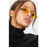 Yellow Ultra Slimline Frameless Glasses